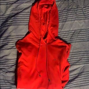 Tommy Hilfiger red fitted xs hoodie